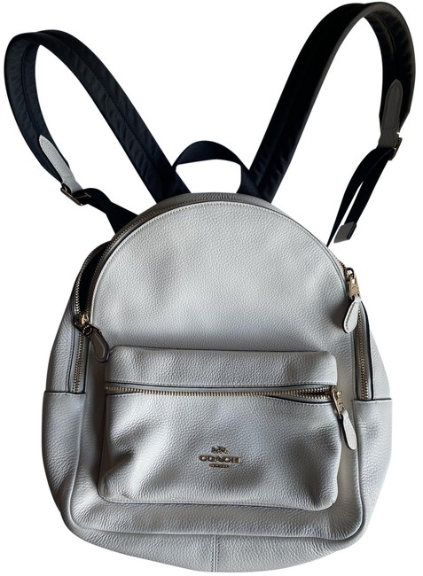 Item - Winter White Leather Backpack