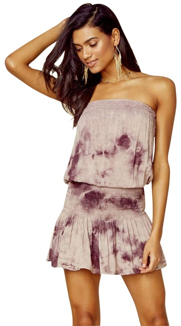 Item - Purple Good Karma Mini Short Casual Dress Size 4 (S)