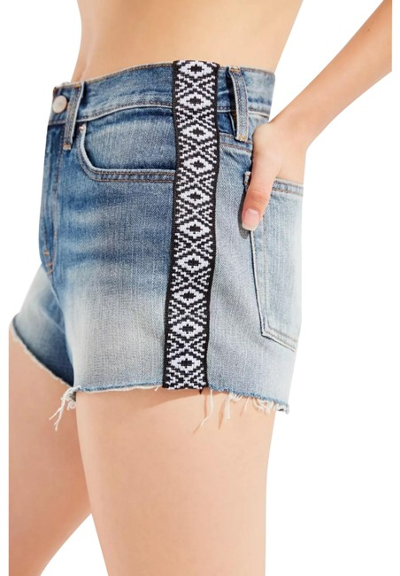 Item - Blue Girlfriend High Rise Distressed Shorts Size 2 (XS, 26)