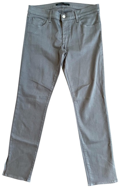 Item - Coated Low Rise Hipster Skinny Jeans Size 6 (S, 28)