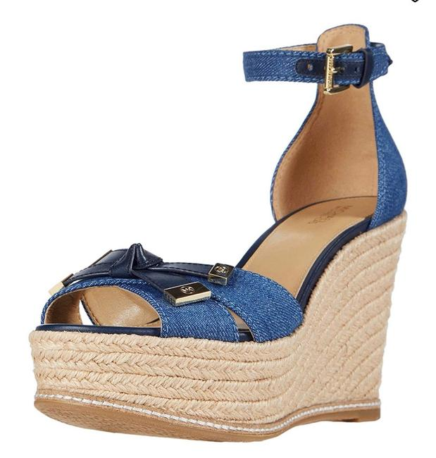 Item - Blue Ripley Wedges Size US 7 Regular (M, B)