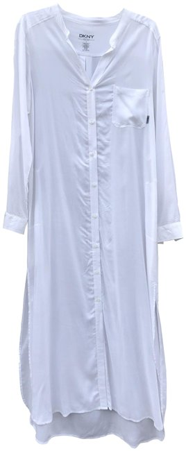 Item - White Y2613305 Long Casual Maxi Dress Size 4 (S)