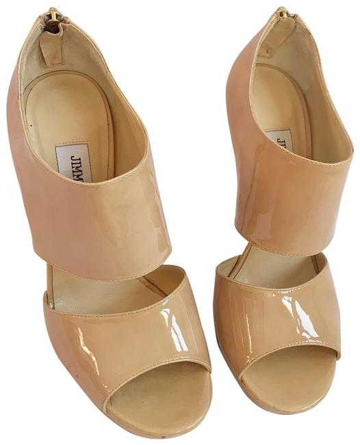 Item - Nude 'private' Patent Leather Pumps Size US 7 Regular (M, B)