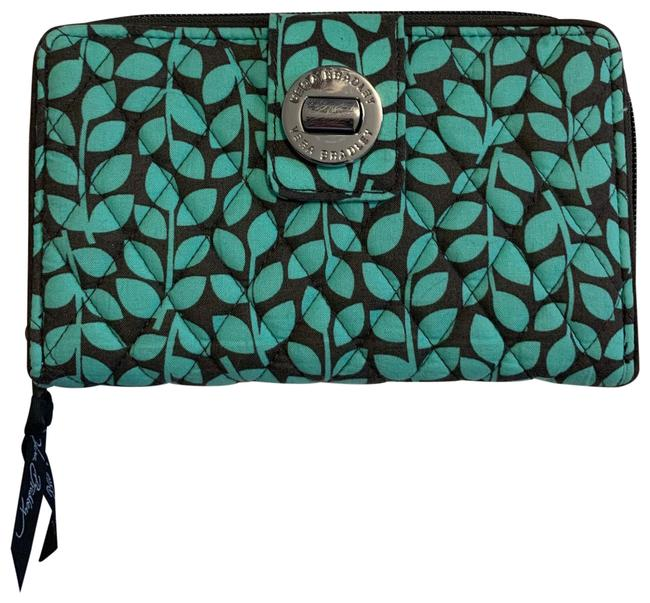 Item - Teal and Brown Clutch Wallet