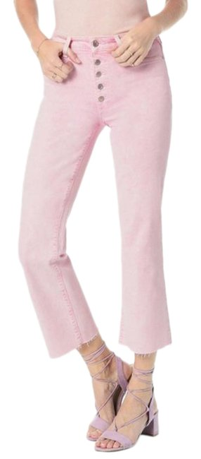 Item - Pink Light Wash The Wyatt High Rise Retro Crop New Capri/Cropped Jeans Size 24 (0, XS)
