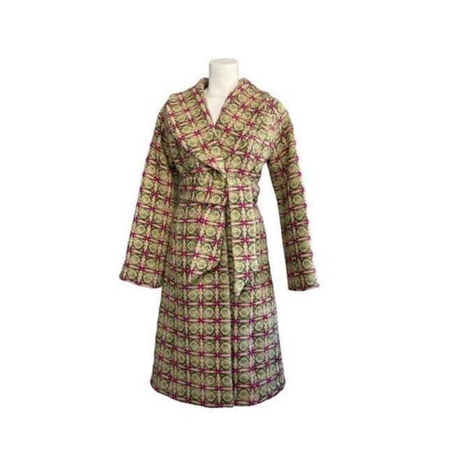 Item - Green Pink Elevenses Uncommom Journey Coat Size 4 (S)