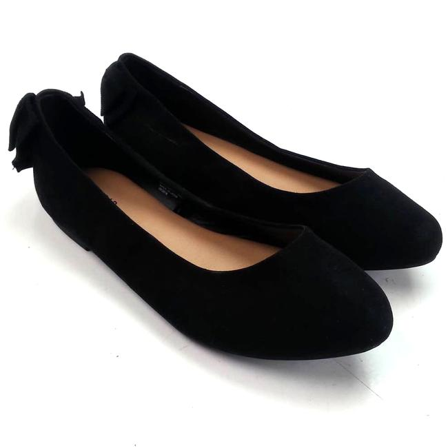 Item - Black Ballet 11w Bow Flats Size US 11 Wide (C, D)