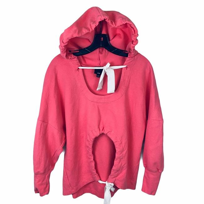 Item - Pink Cut Out Small Sweatshirt/Hoodie Size 6 (S)