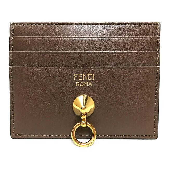 Item - Black / Brown / Red Color By The Way Card Case Pass 8m0269 Wallet