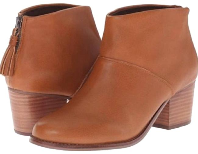 Item - Brown Leila Leather Ankle Boots/Booties Size US 8.5 Regular (M, B)
