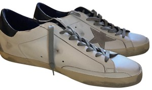 Golden goose Men's Super Star Leather Sneaker brand new never used size 45 Athletic