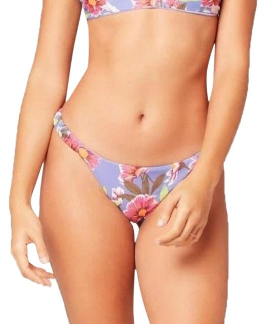 Item - Blue Purple Lost In Ibiza Lloyd Bikini Bottom Size 12 (L)