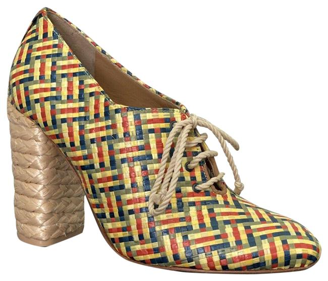 Item - Multicolor Fabienne 100mm Woven Block Heel Boots/Booties Size US 7 Regular (M, B)