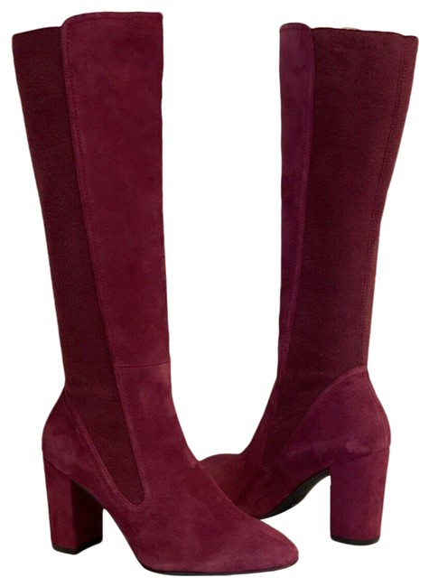 Item - Cranberry Livia Suede Leather Knee High Boots/Booties Size US 10 Regular (M, B)