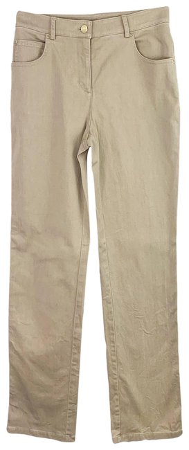 Item - Tan Yellow Tag High Rise Khaki Colored Relaxed Fit Jeans Size 26 (2, XS)