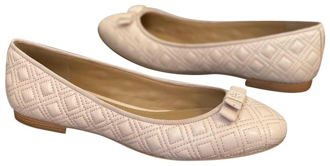 Item - Pink Marion Seashell Leather Quilted Ballet Flats Size US 5 Regular (M, B)