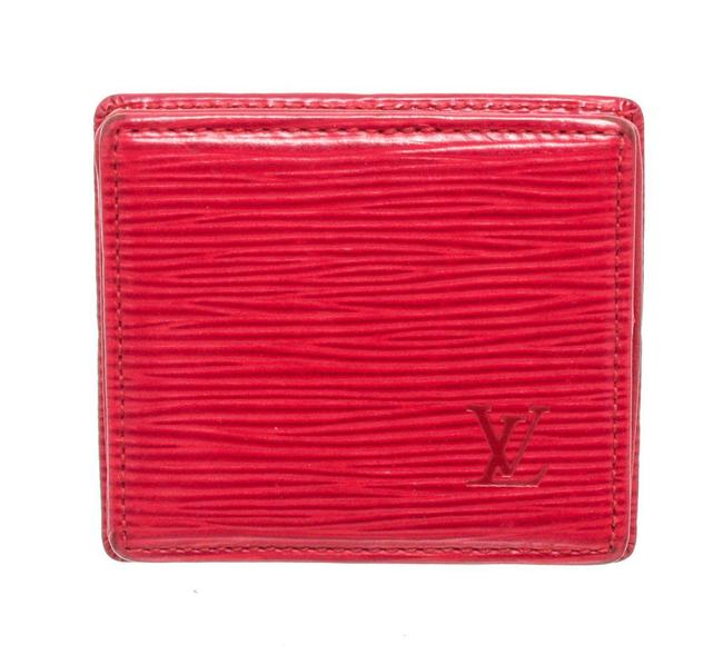 Item - Epi Leather Boite Coin Case Wallet Red Beach Bag