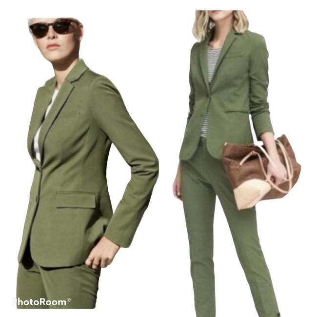 Item - Moss Green Long and Lean Blazer Size 4 (S)
