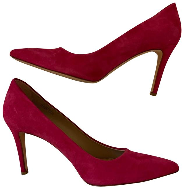 """Item - Pink """"Everly"""" Suede Pointed Pumps Size US 8.5 Regular (M, B)"""