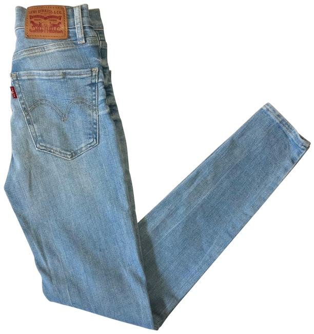 Item - Blue Light Wash Mile High Super Skinny Jeans Size 00 (XXS, 24)