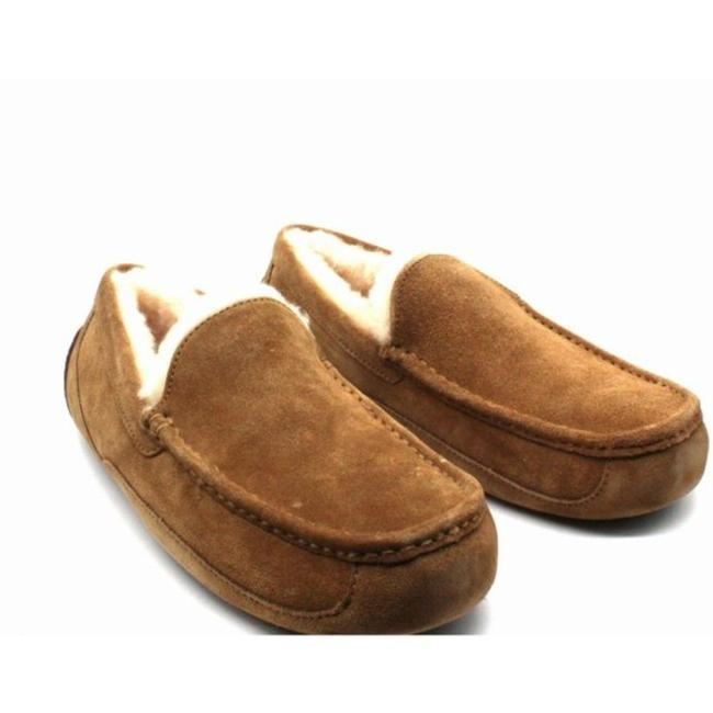 Item - Brown Ascot Men's Moccasin Slippers Men's Boots/Booties Size US 11 Regular (M, B)
