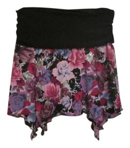 Star City Mini Skirt Blue / Magenta