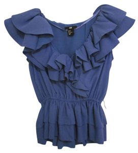 H&M Top Blue