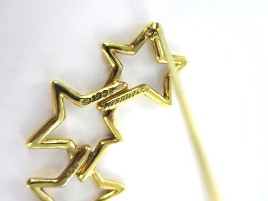 Tiffany & Co. VINTAGE TIFFANY & CO (SIGN) PIN BROOCH STARS 1986