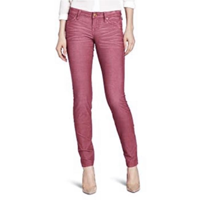 Item - Red Pink Micro Cord Pants Size 8 (M, 29, 30)