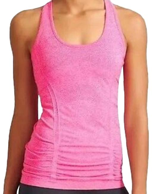Item - Pink Fastest Track Activewear Top Size 4 (S)