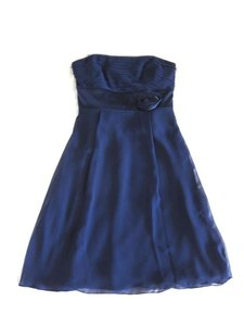 Ann Taylor Blue Kay Unger For Ann Taylor Dress