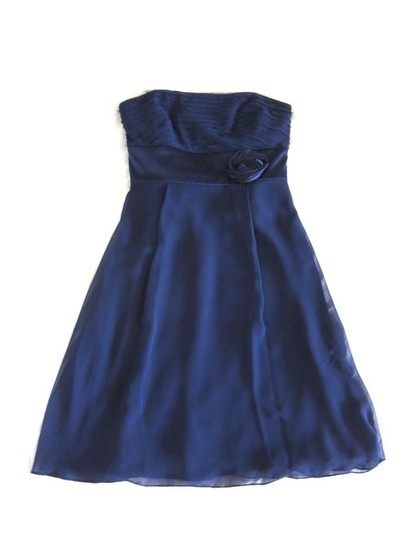 Preload https://item4.tradesy.com/images/ann-taylor-blue-chiffon-kay-unger-feminine-bridesmaidmob-dress-size-6-s-289513-0-0.jpg?width=440&height=440