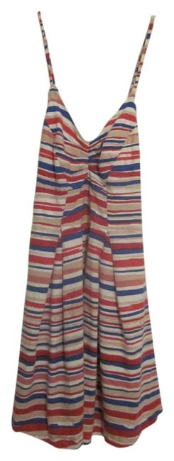 Urban Outfitters short dress Blue / Red on Tradesy