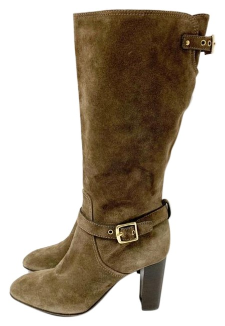 Item - Brown Tan Italy Made Robynn Suede Boots/Booties Size US 10 Regular (M, B)