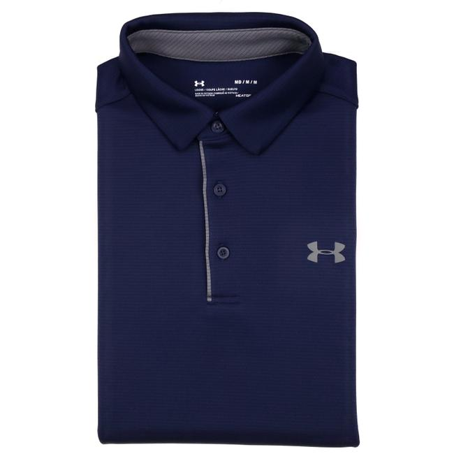 Item - Blue Navy Medium Polo Mens Size Ua Tech 1290140 Recent Shirt