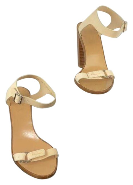 Item - Tan Ankle Strap Block Heel Sandals Size US 11 Regular (M, B)