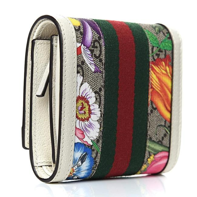 Gucci New Floral Summer Wallet Multicolor Gg Supreme Canvas Tote Gucci New Floral Summer Wallet Multicolor Gg Supreme Canvas Tote Image 2