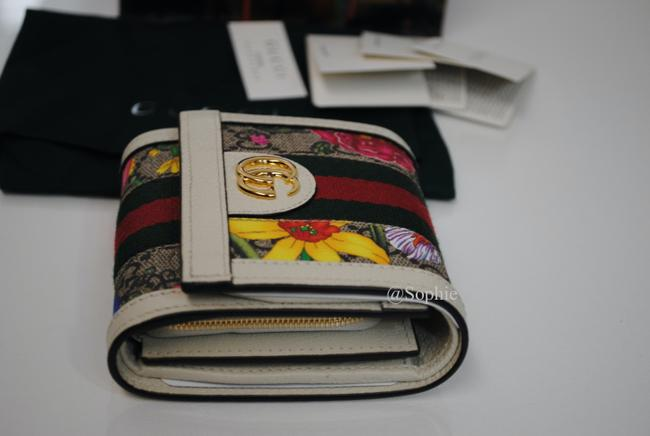 Gucci New Floral Summer Wallet Multicolor Gg Supreme Canvas Tote Gucci New Floral Summer Wallet Multicolor Gg Supreme Canvas Tote Image 8