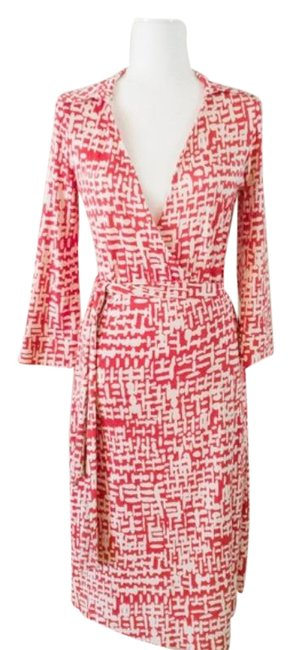 Item - Red Justin Mid-length Work/Office Dress Size 8 (M)