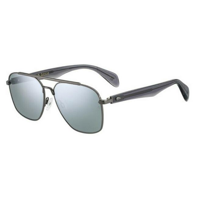 Item - Gray And Rnb-5004-s-pta-t4-60 Size 60mm 145mm 15mm Sunglasses