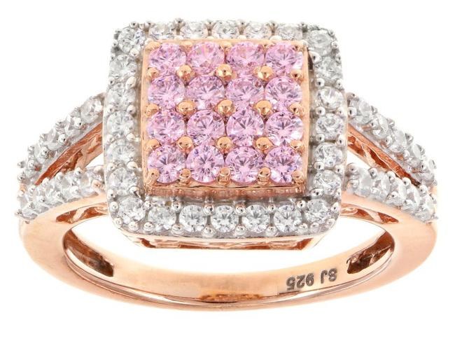 Item - Rosegold Pretty In Pink White 18k Ring