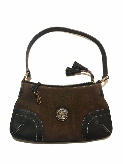 Item - Rare Suede and Pebble Leather Tassel Brown Hobo Bag