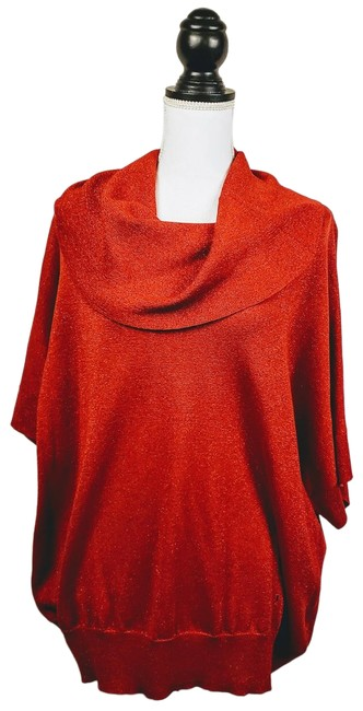 Item - Cowl Neck Red Sweater