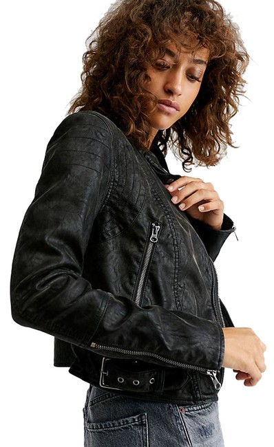 Item - Black Fenix Vegan Moro Jacket Size 2 (XS)