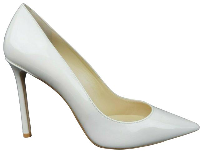 Item - White Women's Romy 100 Chalk Patent Leather Pumps Size EU 40 (Approx. US 10) Regular (M, B)