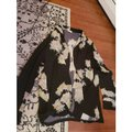 Dries van Noten Black Kimono Silk Large Blouse Size 12 (L) Dries van Noten Black Kimono Silk Large Blouse Size 12 (L) Image 2