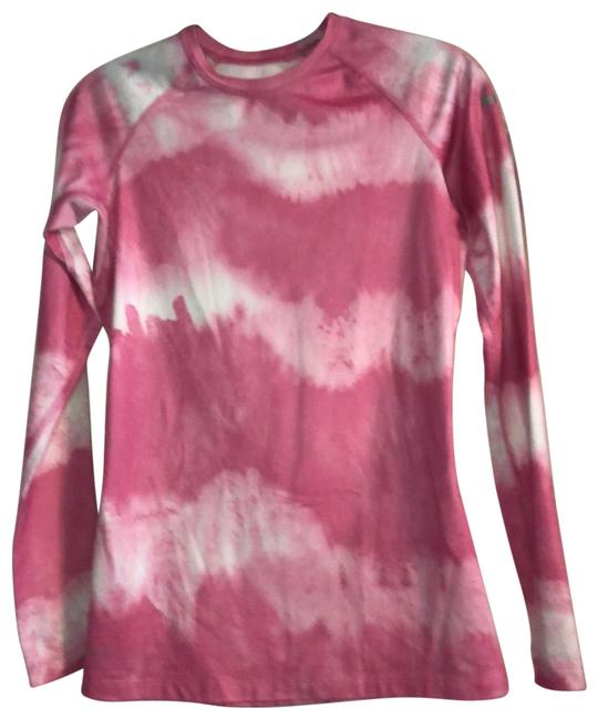 Item - Pink and White Pro Combat Activewear Top Size 6 (S)