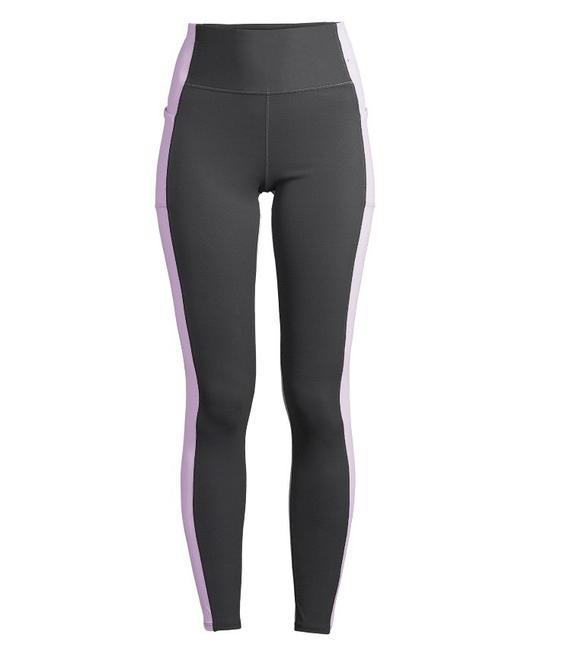Item - Charcoal/Lilac Activewear Bottoms Size 12 (L)