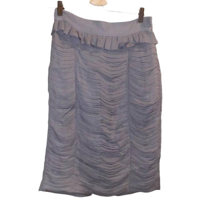 Item - Gray London Pleated Pencil Skirt Size 6 (S, 28)