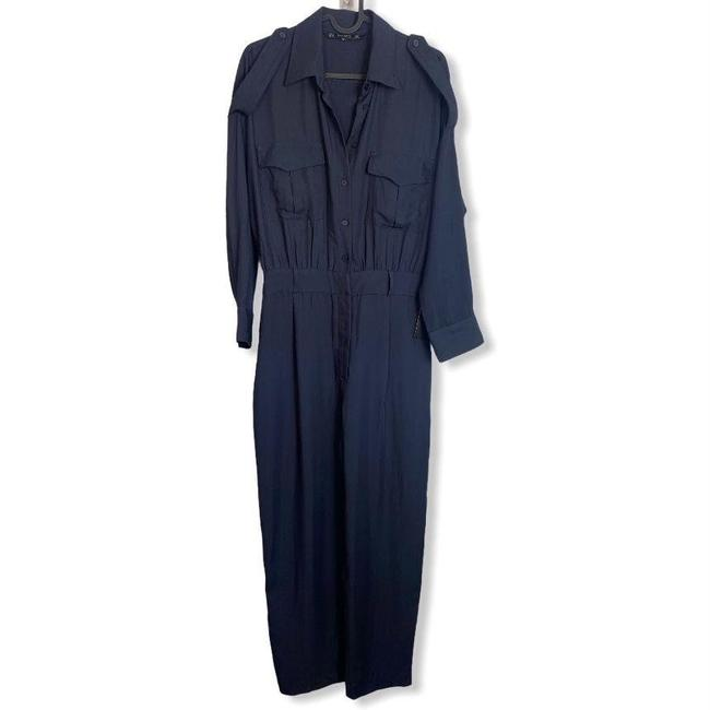Item - Navy Blue Womens Size Small Romper/Jumpsuit
